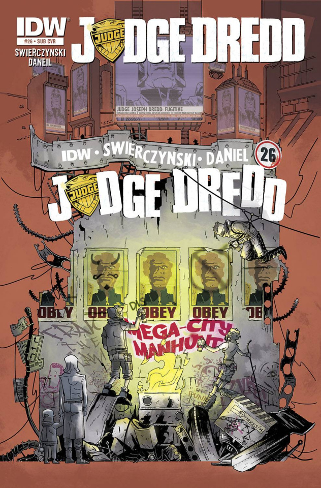 Judge Dredd #26 (Subscription Cover)
