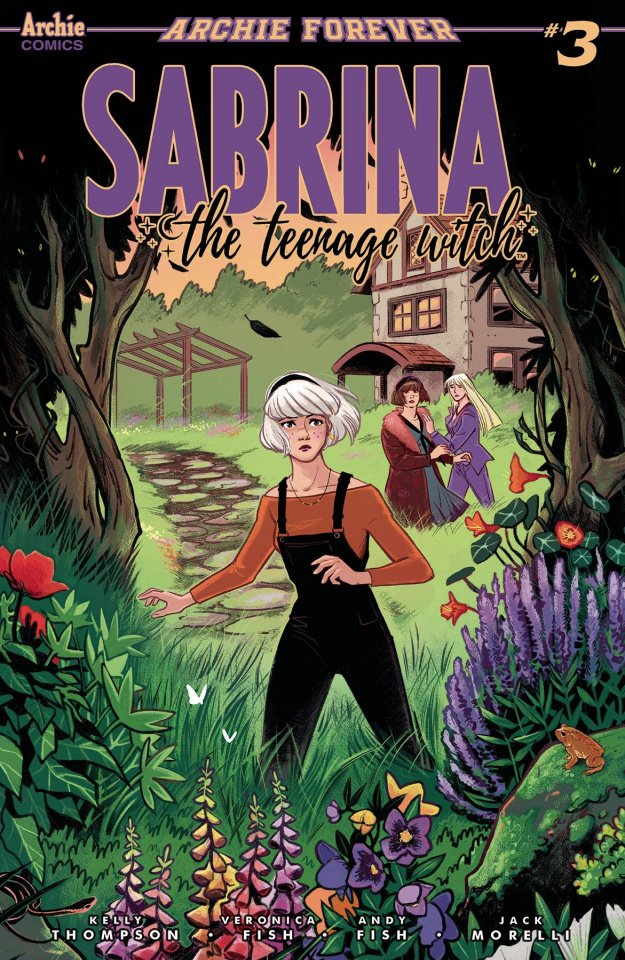 Sabrina, The Teenage Witch #3 (Fish Cover)