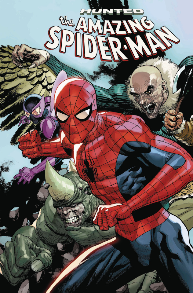 The Amazing Spider-Man #17 (Yu Connecting Cover)