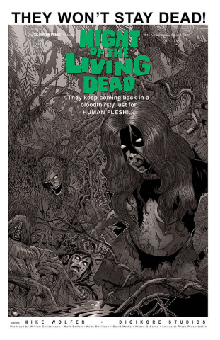 Night of the Living Dead Annual 2011 (Classic Cover)