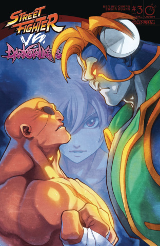 Street Fighter vs. Darkstalkers #3 (Huang Cover)
