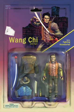 Big Trouble in Little China: Old Man Jack #9 (Subscription Cover)