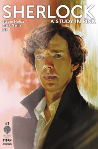Sherlock: A Study in Pink #2 (Convention Cover)