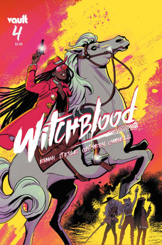 Witchblood #4 (Sterle Cover)