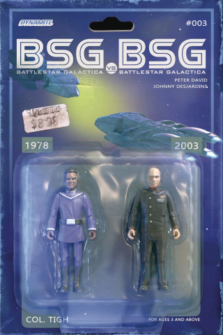 BSG vs. BSG #3 (Tigh Action Figure Cover)