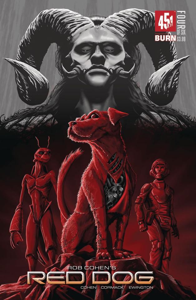 Red Dog #4 (Velez Cover)