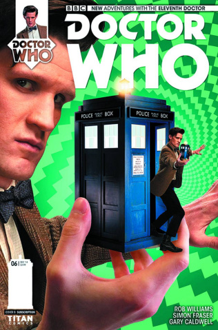 Doctor Who: New Adventures with the Eleventh Doctor #6 (Subscription Cover)