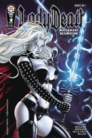 Lady Death: Malevolent Decimation #1
