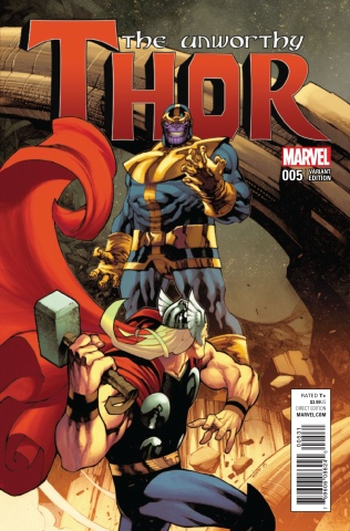 The Unworthy Thor #5 (Stevens Cover)
