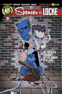 Spencer & Locke #1 (Mulvey Cover)