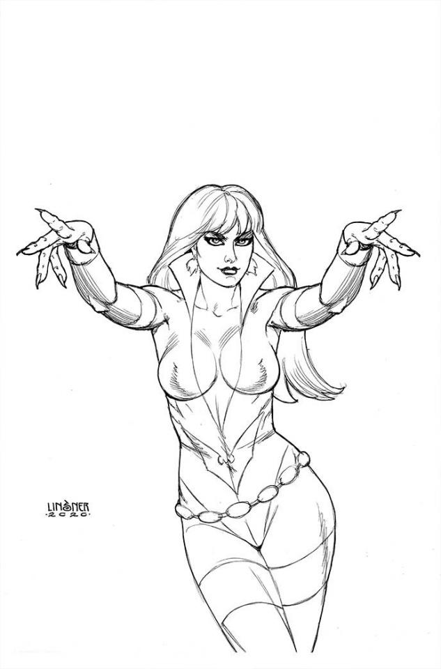 Vampirella: The Dark Powers #5 (30 Copy Linsner B&W Virgin Cover)
