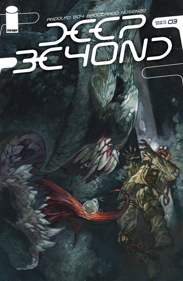 Deep Beyond #3 (Bianchi Cover)