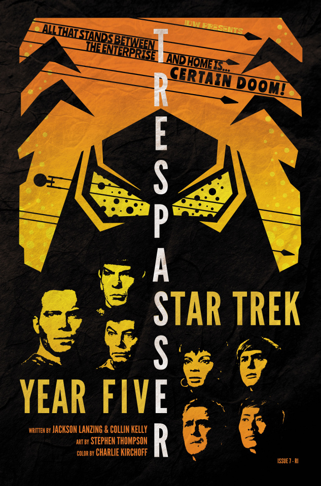 Star Trek: Year Five #7 (10 Copy Lendl Cover)