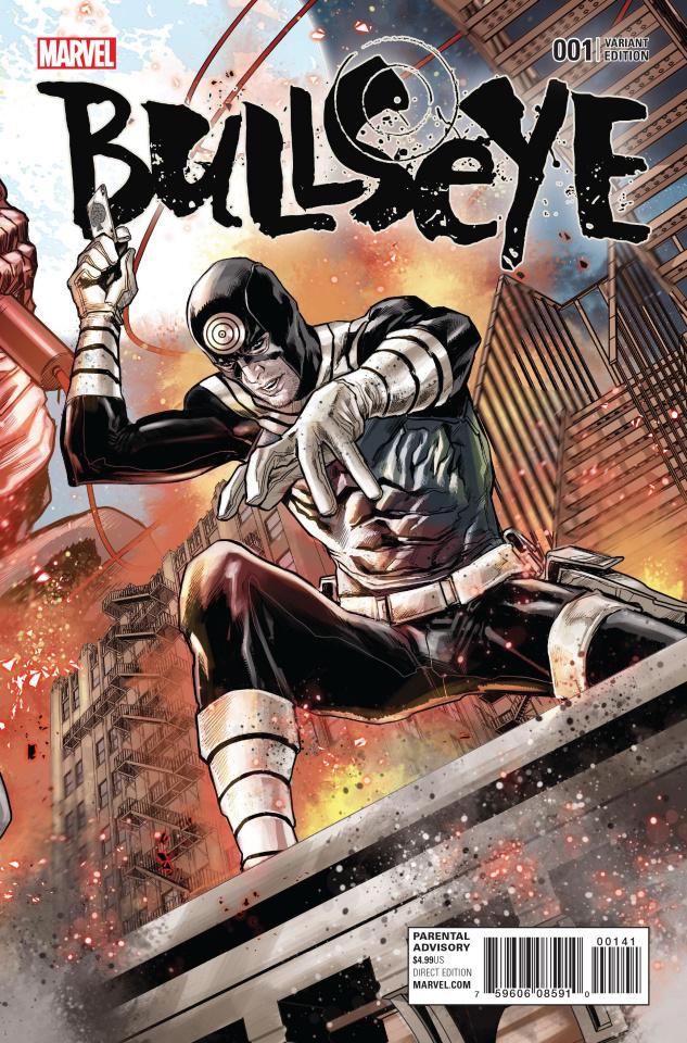 Bullseye #1 (Checchetto Connecting Cover)