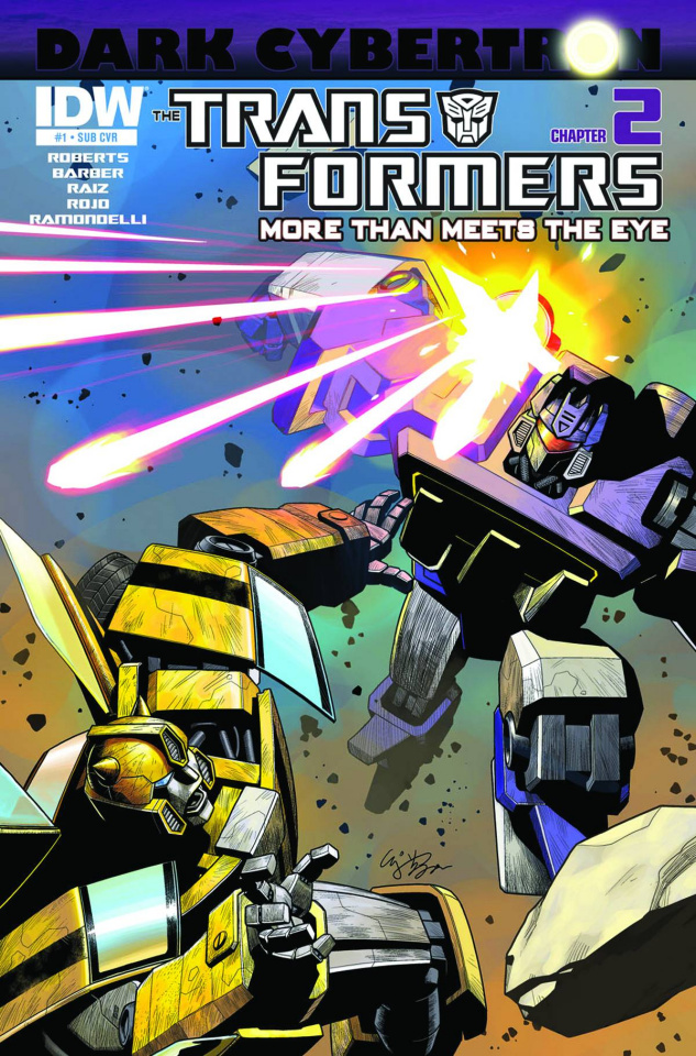 The Transformers: More Than Meets the Eye #23 (Subscription Cover)