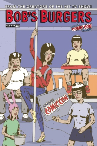 Bob's Burgers #15 (NYCC Cover)
