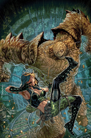 Robyn Hood: Justice #3 (Tolibao Cover)