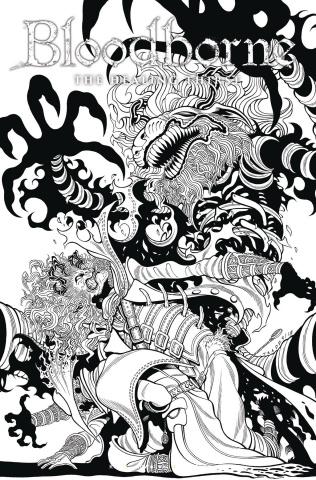 Bloodborne #5 (Tradd Moore B&W Cover)