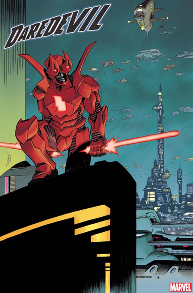 Daredevil #13 (Shalvey 2099 Cover)
