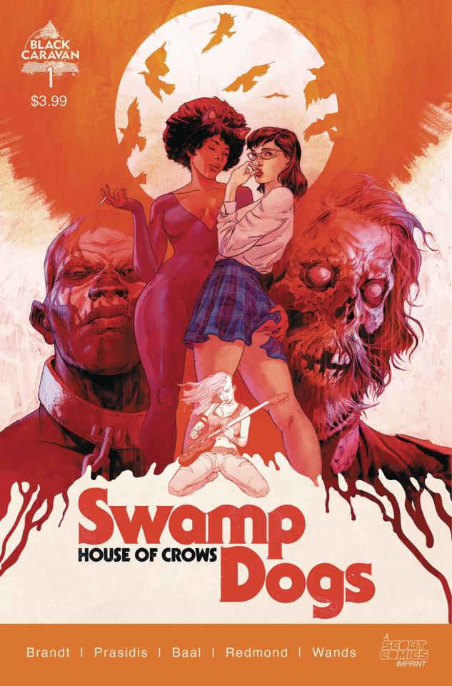 Swamp Dogs #1 (Sammelin Cover)