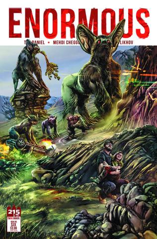 Enormous #6 (Cheggour Cover)