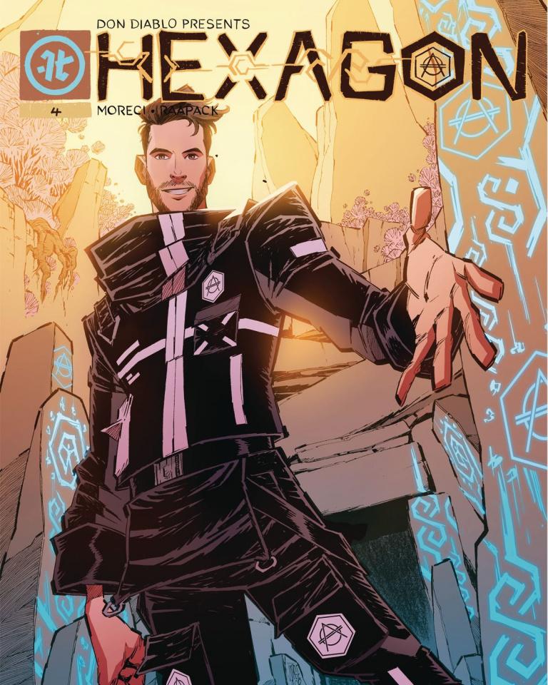 Hexagon #4 (Corona Cover)