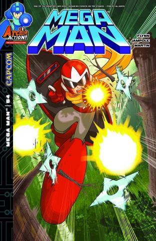 Mega Man #54 (Spaz Cover)