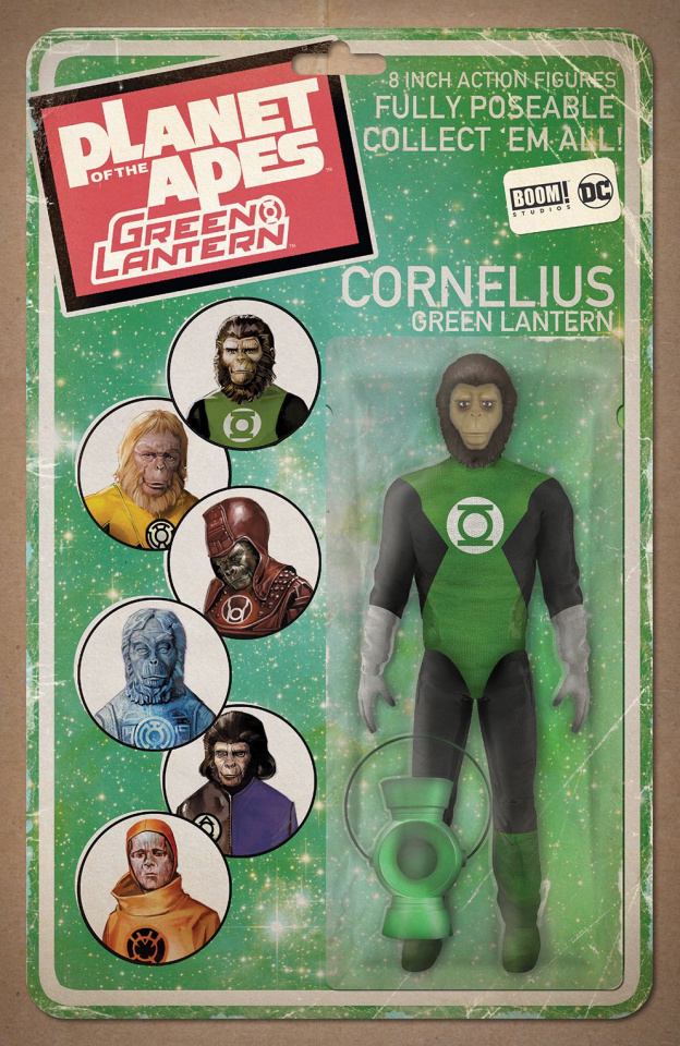 The Planet of the Apes / The Green Lantern #1 (Unlock Action Figure Cover)