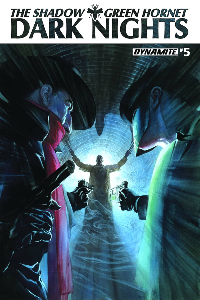The Shadow / Green Hornet: Dark Nights #5 (Ross Cover)