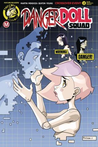 Danger Doll Squad #2 (Mendoza Risque Cover)
