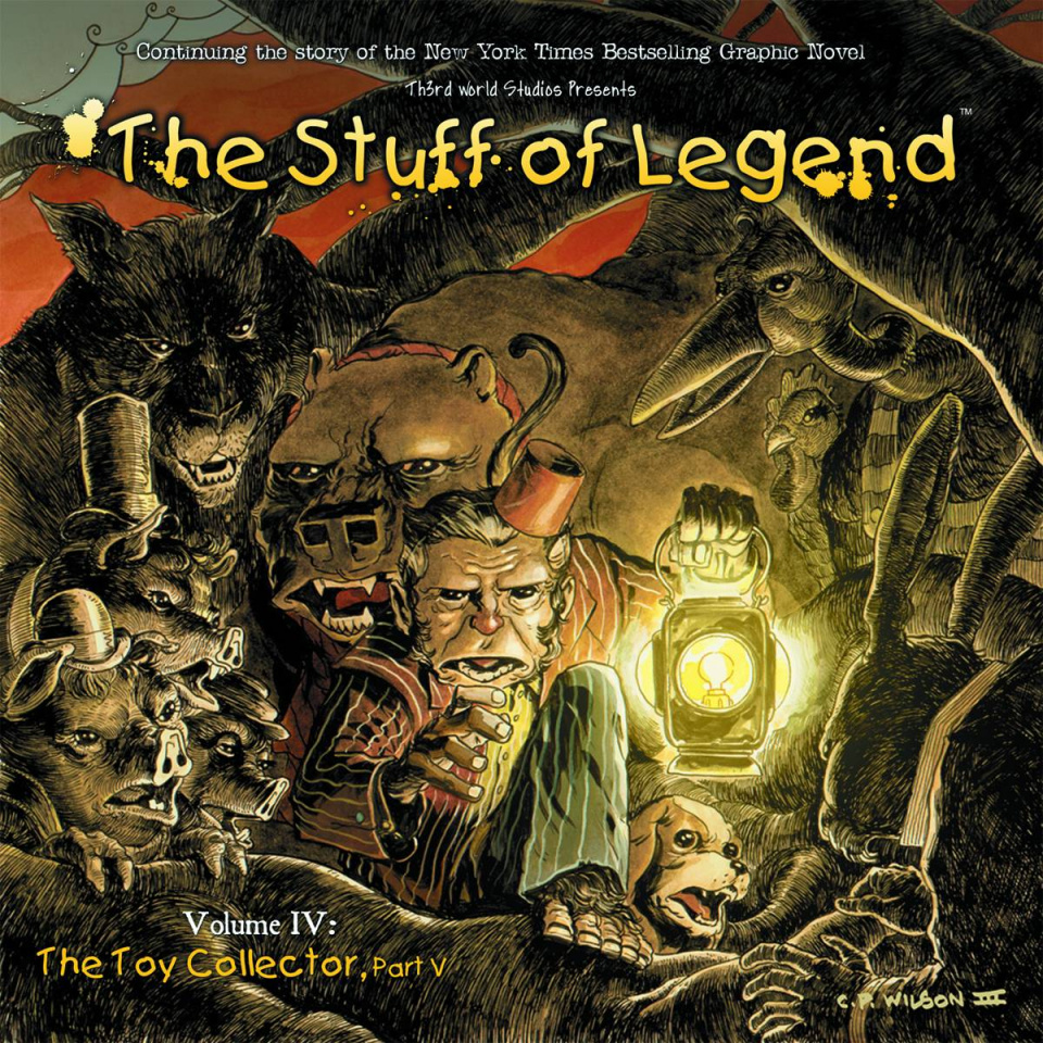 The Stuff of Legend: The Toy Collector #5