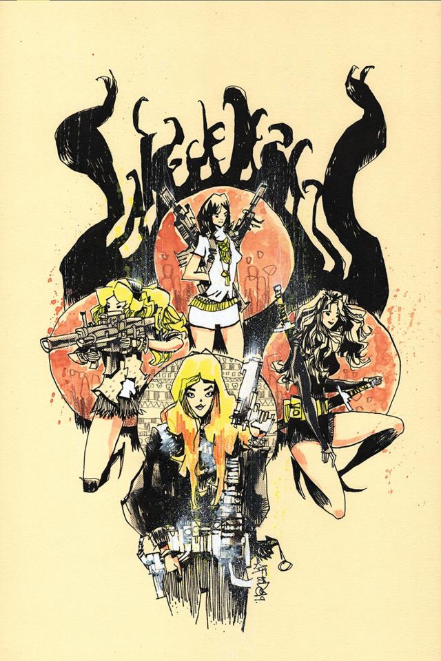 Charlie's Angels vs. The Bionic Woman #4 (30 Copy Mahfood Virgin Cover)