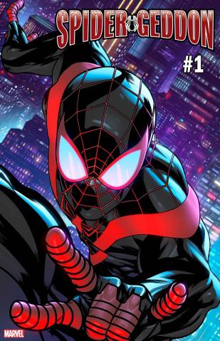 Spider-Geddon #1 (McKone Miles Morales Spider-Man Cover)