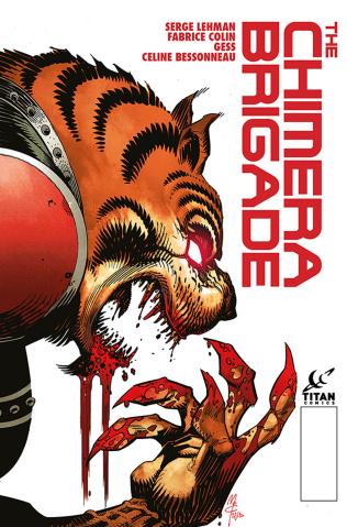 The Chimera Brigade #3 (McCrea Cover)