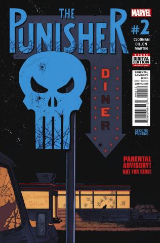 The Punisher #2 (Shalvey 2nd Printing)