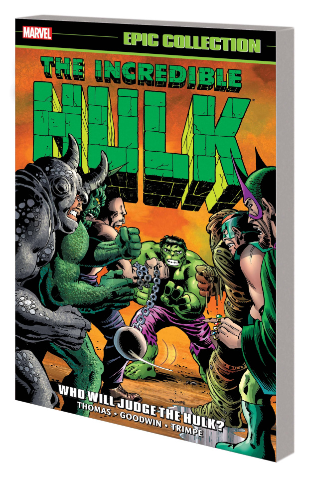 The Incredible Hulk: Who Will Judge the Hulk? (Epic Collection)