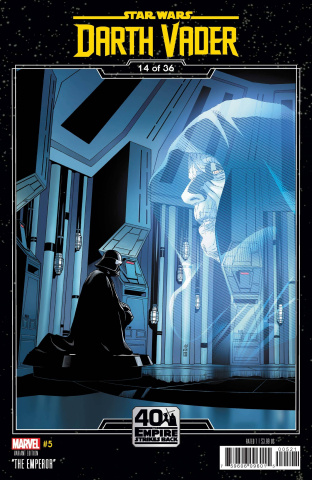 Star Wars: Darth Vader #5 (Sprouse Empire Strikes Back Cover)