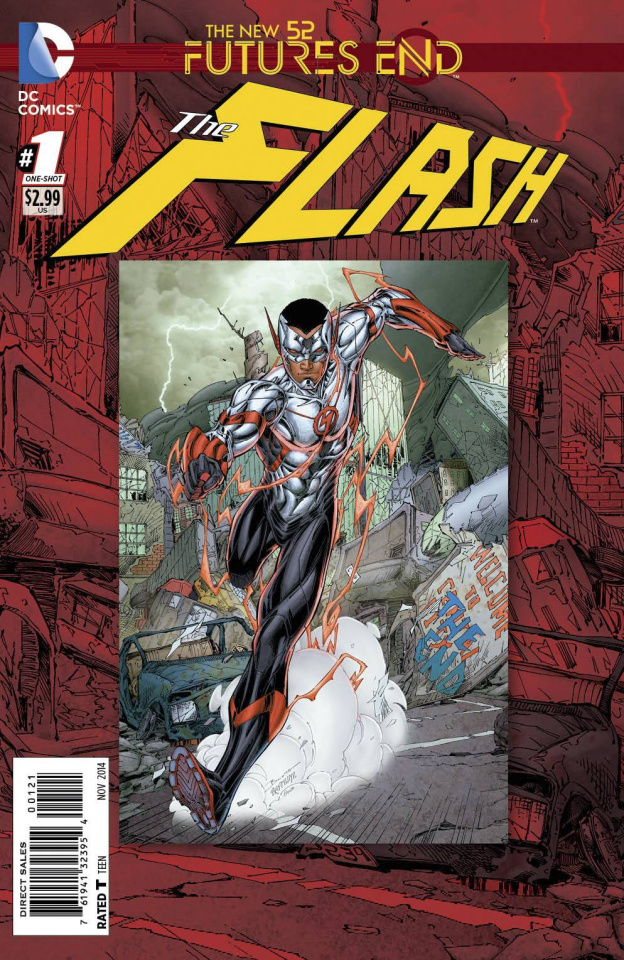 The Flash: Future's End #1 (Standard Cover)