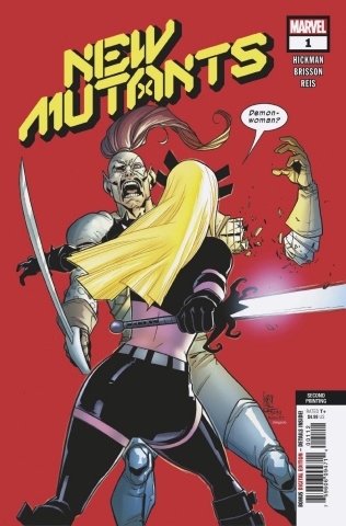 New Mutants #1 (Camuncoli 2nd Printing)