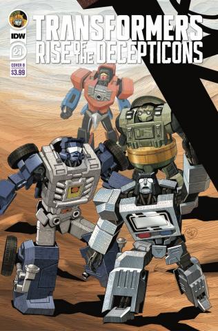 The Transformers #21 (Su Cover)