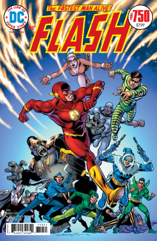 The Flash #750 (1970s Garcia Lopez Cover)