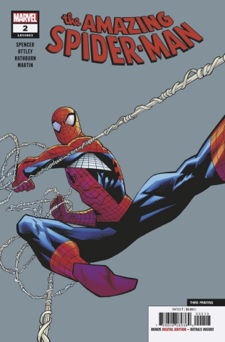 The Amazing Spider-Man #2 (Ottley 3rd Printing)