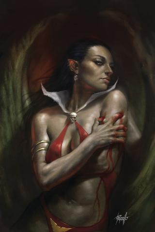 Vengeance of Vampirella #6 (Parrillo Virgin Cover)