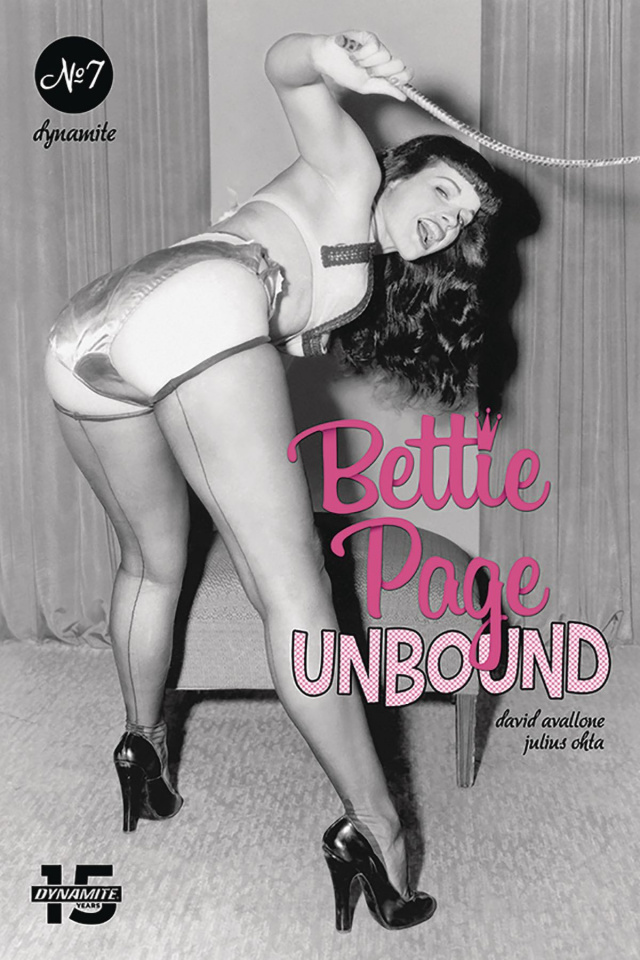 Bettie Page: Unbound #7 (Photo Cover)
