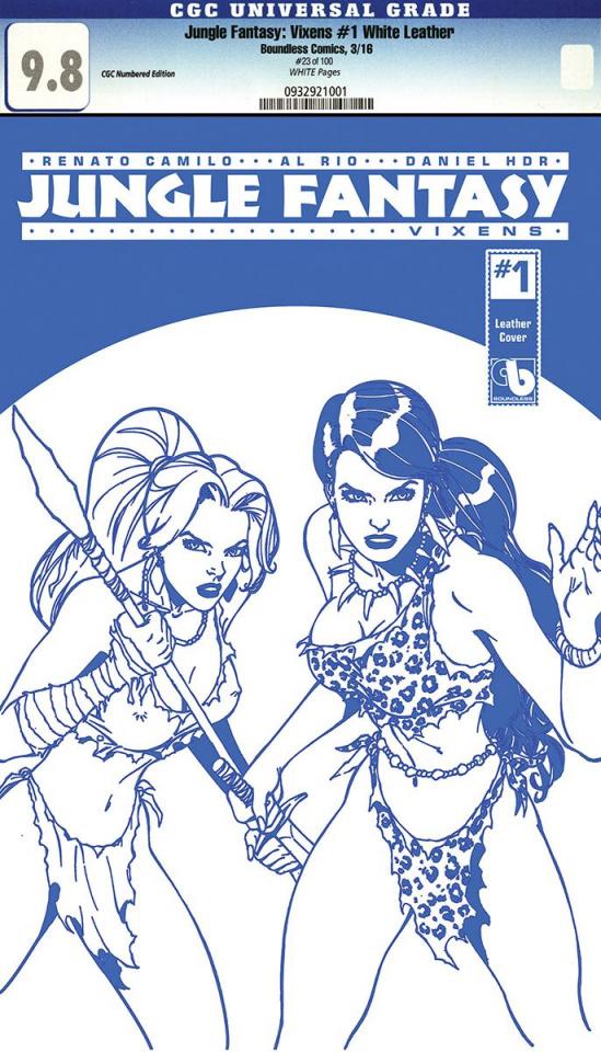 Jungle Fantasy: Vixens #1 (CGC Graded Cover)