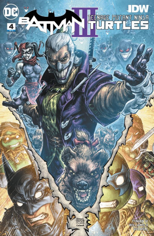 Batman / Teenage Mutant Ninja Turtles III #4