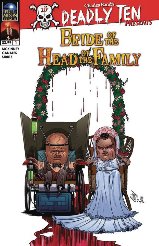 Deadly Ten Presents: Bride of the Head of the Family (Canales Cover)