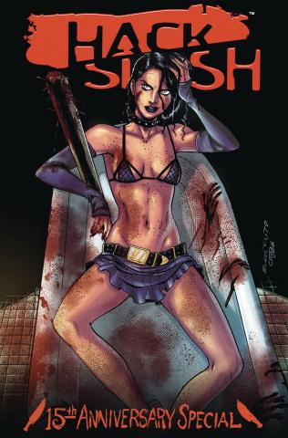 Hack/Slash: 15th Anniversary Celebration (Seeley Cover)