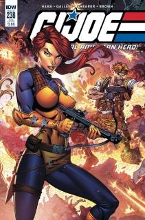 G.I. Joe: A Real American Hero #238 (Subscription Cover)