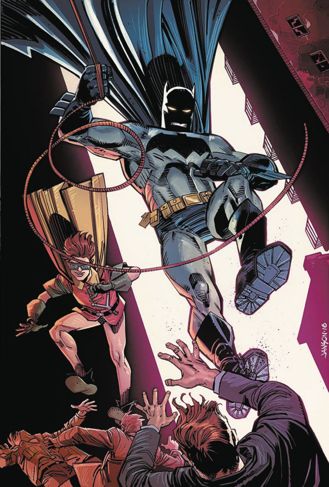 Dark Knight III: The Master Race #6 (Janson Cover)